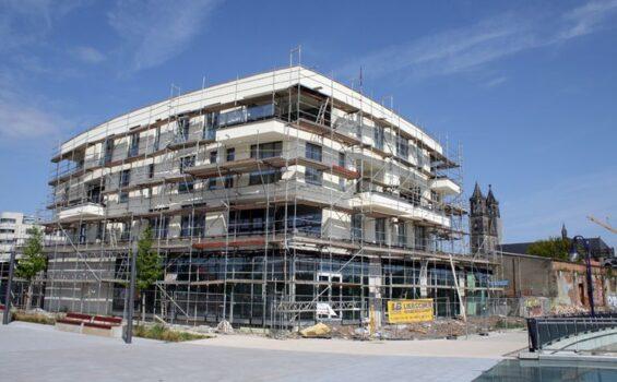 Neubau, Wohn- und Geschäftshaus, Stadtplatz, Magdeburg